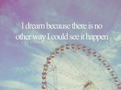 i sueño.