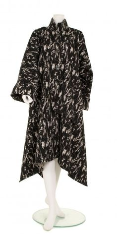 Yiannis Karitsiotis Black & White Wool Coat - Yiannis Karitsiotis from idaretobe.com UK