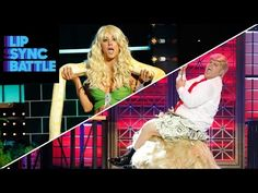 """Kaley Cuoco channeled her inner Britney Spears on """"Lip Sync Battle"""" last night, and it was epic - Page 2 of 2"""