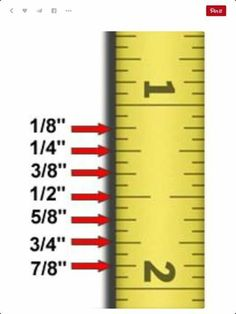 Sewing Tips Helpful Hints reading a ruler for dummies Sewing Tutorials, Sewing Hacks, Sewing Crafts, Sewing Projects, Sewing Patterns, Sewing Tips, Sewing For Dummies, Sewing Art, Sewing Basics