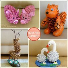 23 Clever DIY Christmas Decoration Ideas By Crafty Panda Pinecone Crafts Kids, Pine Cone Crafts, Fall Crafts, Diy Crafts For Kids, Crafts To Sell, Art For Kids, Christmas Crafts, Arts And Crafts, Pinecone Ornaments