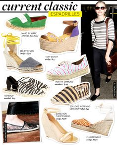 Current Classic: Espadrilles - Celebrity Style and Fashion from WhoWhatWear