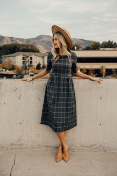 Not your average plaid dress | ROOLEE