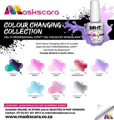 Color Changer, Color Changing Led, Uv Led, Gel Polish, How To Apply, Collections, Colours, Nails, La La Land