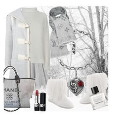 """""""Gentle morning"""" by ledile ❤ liked on Polyvore featuring Boohoo, Vince, Bearpaw, Chloé, Chanel, Tom Daxon, Cynthia Rowley, Christian Dior, Silver and charms"""