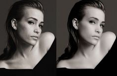 Photoshopped models. So what are we aspiring to??