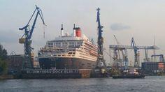 #QueenMary2 #Schiff #Hamburg #Dock17 #Werft #Umbau #Blohm&Voss #Luxus #Cunard #CunardLine #Kreuzfahrt #cruise #Kreuzfahrtberater #renovation #remastered