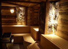 Sauna mit Granatgestein gehört zu den neuesten Innovationen im Seefischer Innovation, Sauna, Bathtub, Tourism, Destinations, Standing Bath, Bathtubs, Bath Tube, Bath Tub