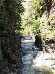 Robert Treman State Park, Ithaca, NY.