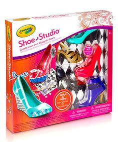Look at this Shoe Studio Craft Set on #zulily today!