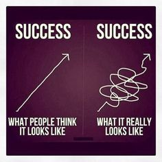 The path to success may be convoluted but extraordinary goals can be achieved through persistence and commitment ~ N.