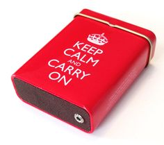 Portable Amp and Speaker for MP3 Player Keep Calm and von ampoids