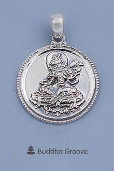 Premium Quality Sterling Silver Green Tara Pendant Green Tara Mantra, Art Deco Rugs, Spring Into Action, Seven Chakras, Spiritual Jewelry, Buddhism, Im Not Perfect, Gypsy, Pendants