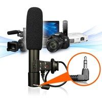 Wish | Newest Digital Video Professional Studio /Stereo Recording 3.5mm Camera Microphone