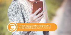 11 Hot #Instagram #Marketing Tips from #SocialMedia Experts https://t.co/fjDiU91L2Y https://t.co/p21MuDjFPL