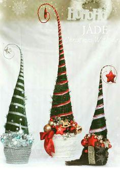 Easy Christmas Crafts, Simple Christmas, Christmas Decorations, Christmas Ornaments, Holiday Decor, Christmas Ideas, Grinch Trees, Minion, Xmas