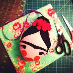 Frida Doll-face #handmade