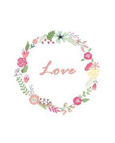 Lamina Imprimible Love - mamyalaobra.blogspot.com - Free Printable - Mamy a la obra