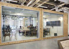 Airbnb office in Dublin, by Heneghan Peng