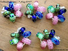 Trollbeads uniques, May 2014.