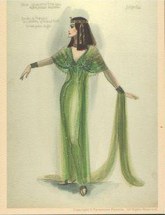 Edith Head costume design for   The Ten Commandments