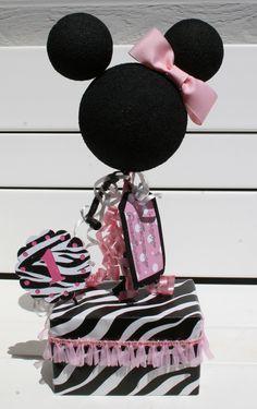 Minnie Mouse Centerpiece (First Birthday)