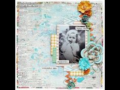 ▶ 'Remember this' by Marta Lapkowska for My Creative Scrapbook - YouTube