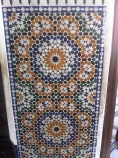 In a madrassa in Marrakech