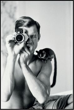 Peter Beard:Self Portrait with Minor (1968)   AnOther Loves