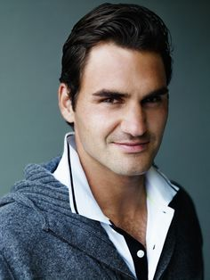 Roger Federer. Number 1 tennis player in the world.