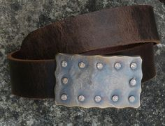 Hand Forged Belt Buckle Stainless Steel by ironartcanada on Etsy, $185.00 https://www.etsy.com/ca/listing/198913490/hand-forged-belt-buckle-stainless-steel?