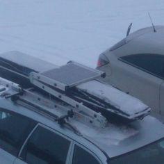 Вид багажника сверху. #багажники#roofrack