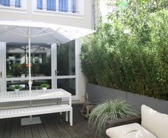 Photo deco terrasse balcon veranda vert romantique for Deco appartement romantique