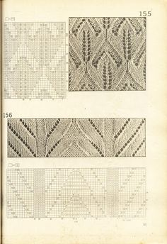 Kötésminták5 - Zsuzsanna Budai - Picasa Webalbumok Easy Knitting Patterns, Knitting Charts, Lace Knitting, Knitting Stitches, Stitch Patterns, More Cute, Pattern Books, Vintage Patterns, Free Crochet