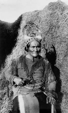 A Portrait of Geronimo Chief of the Arizona Apache Fort Sill, Oklahoma  ca 1910   Ryder Ridgway Photographs
