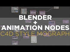 Blender + Animation Nodes Tutorial: C4D Style Mograph - YouTube