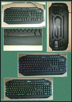 Gaming Tastatur von Connect IT - Kreiere Dein Leben-Mandys Lifestyle Report