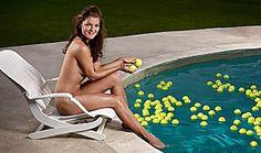 Tennis star Agnieszka Radwanska in the 2013 Body Issue - ESPN The Magazine