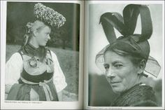 Germany, traditional headdresses, 1936