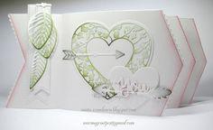 Mapje vol ECD oa :  ECD 1267 Leafy Lace Heart ECD 1269 Love Sentiments  ECD 1279 Fishtail Borders  Meer info op mijn blog.