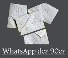 Whatsapp der 90er