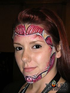 Awesome Wolfe FX face painting