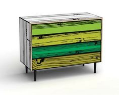 I've loved this chest of drawers from the first time I saw it. Design: Richard Woods and Sebastian Wrong.