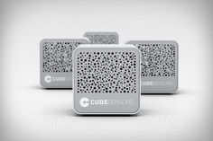 CubeSensors - These small cordless boxes continuously measure temperature humidity, noise, light, air quality, and barometric pressure and send all that data to the cloud so you can access it anywhere.