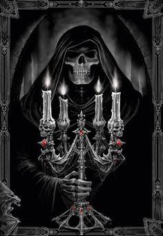 Grim Reaper The start of Ron's New tattoo
