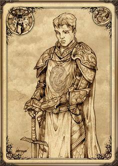Orys Baratheon - fue el fundador de la Casa Baratheon. Asesinó al último Rey Tormenta, Argilac, se casó con su hija Argella y tomó su emblema, lema y tierras, convirtiéndose en Señor de Bastión de Tormentas. Se rumoreaba que Orys era el hijo bastardo de Lord Aerion Targaryen, Señor de Rocadragón, lo que le hacía medio hermano de Aegon I Targaryen. Fue uno de los comandantes más fieros de Aegon, nombrado su Mano del Rey tras finalizar la Guerra de la Conquista.