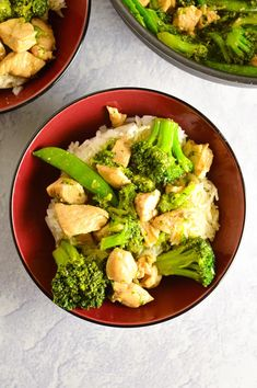 Chicken, Broccoli and Snap Peas Stir Fry | A Taste of Madness