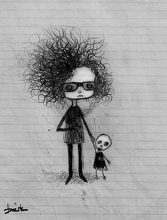 ' Tim Burton ' by Berk Ozturk Tim Burton Artwork, Tim Burton Drawings, Tim Burton Style, Tim Burton Films, Tachisme, Jack Skellington, Pop Art, Shadow Art, Graffiti