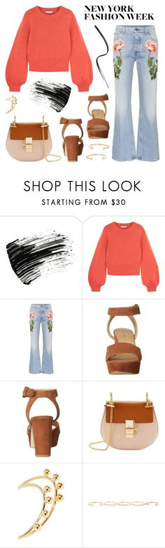 """""""NYFW SS18 Trend: Bright Colors"""" by twenty-7 ❤ liked on Polyvore featuring Marc Jacobs, Chloé, Gucci, Stuart Weitzman, Isabel Marant and NYFW"""