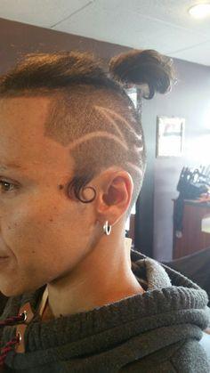 Hair tattoo  differenztrenz Hair Tattoos, Barbers, Stylists, Hoop Earrings, Fashion, Moda, Fashion Styles, Barber Shop, Fasion
